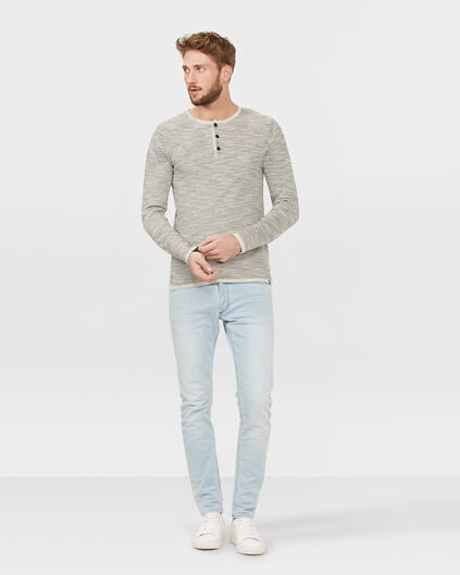 HERREN-JOG-DENIM MIT TAPERED LEG Hellblau