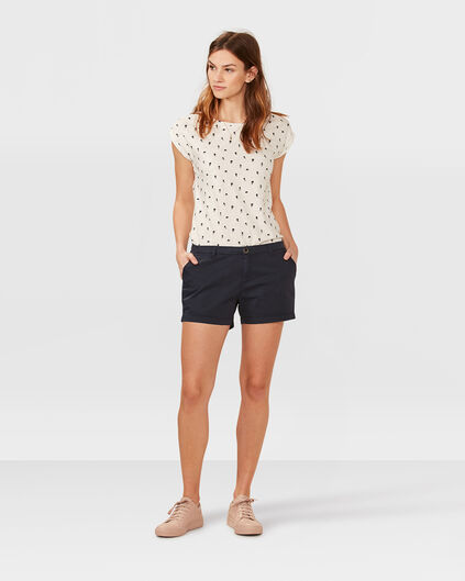 DAMEN-CHINOSHORTS Marineblau