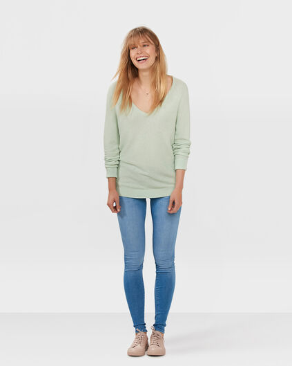 DAMEN-SUPERSKINNY-JEANS Blau