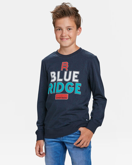 BLUE RIDGE JUNGEN-SWEATSHIRT Marineblau