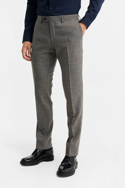 "Herren-Slim-Fit-Anzughose ""Carey"" Grau"