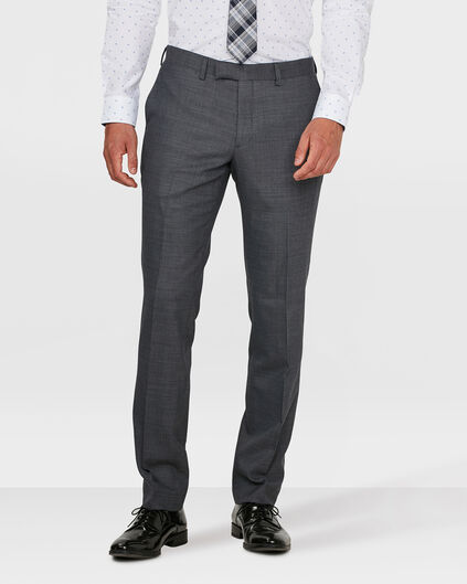 HERREN-REGULAR-FIT-HOSE BOSTON Dunkelgrau