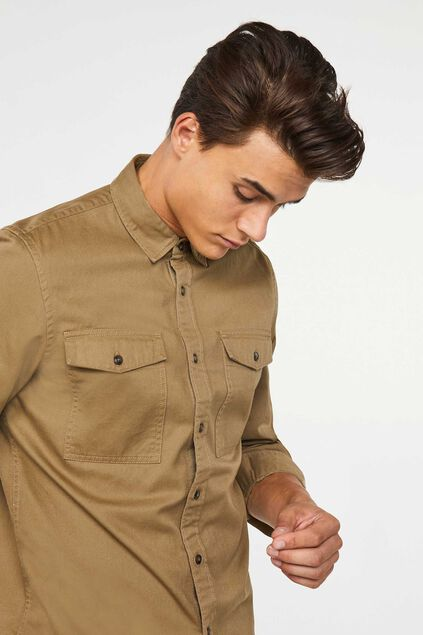 Blue Ridge Herrenhemd Khaki