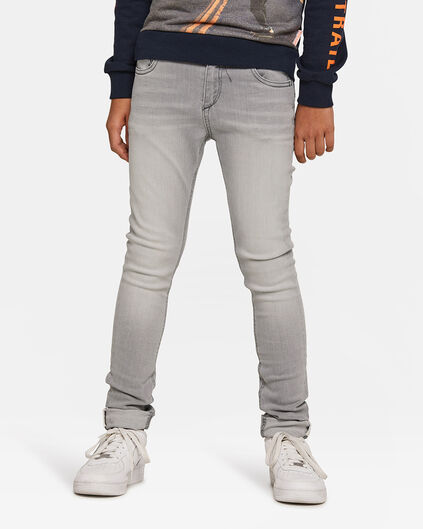 Jungen-Superskinny-Jeans aus Super-Stretch Grau