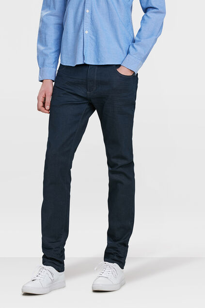 HERREN-SKINNY-FIT--SUPER-STRETCH -JEANS Marineblau