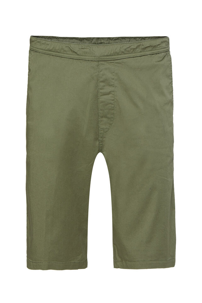 Herren-Regular-Fit-Chinoshorts Armeegrün