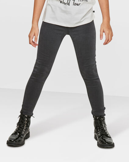 MÄDCHEN-SUPERSKINNY-POWER-STRETCH-JEGGINGS Grau
