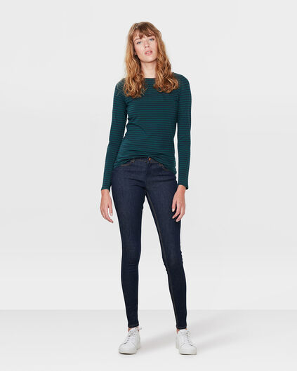 DAMEN-MIDRISE-SUPERSKINNY-HIGH-STRETCH-JEANS Blau