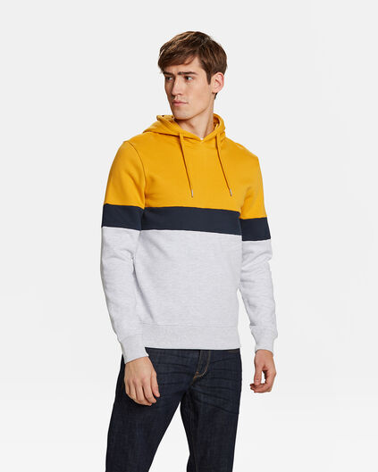 HERREN-SWEATSHIRT IN COLOURBLOCK-OPTIK Gelb