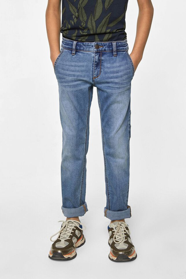 Jungen-Regular-Fit-Jeans Blau