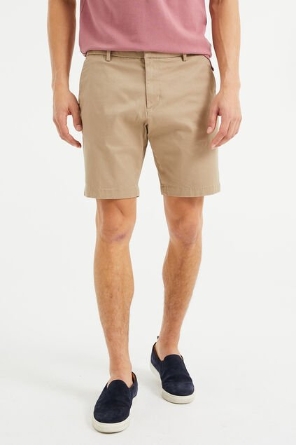 Herren-Relaxed-Fit-Chinoshorts Beige