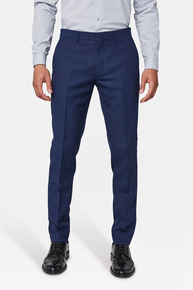 Herren-Regular-Fit-Anzughose Sorrento Marineblau