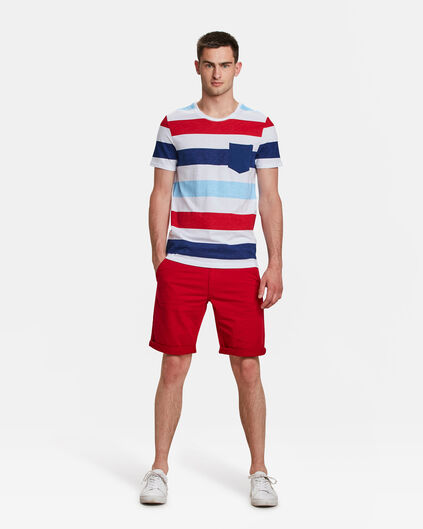 HERREN-REGULAR-FIT-SHORTS Rot