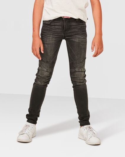 MÄDCHEN-SUPERSKINNY-POWER-STRETCH-JEANS Grau