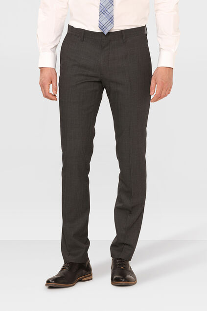 HERREN-SLIM-FIT-ANZUGHOSE TOM Dunkelgrau