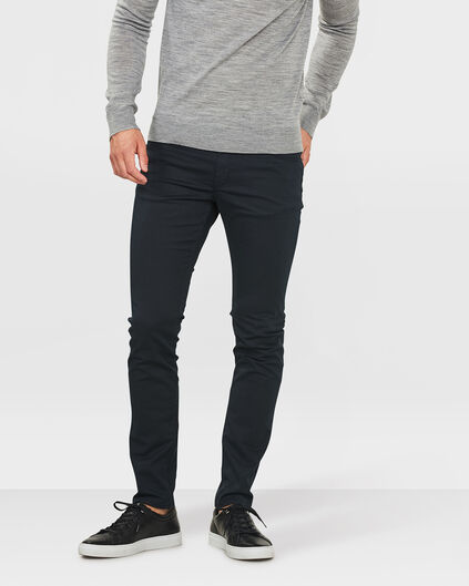 HERREN-SUPERSTRETCH-HOSE MIT TAPERED LEG Dunkelblau