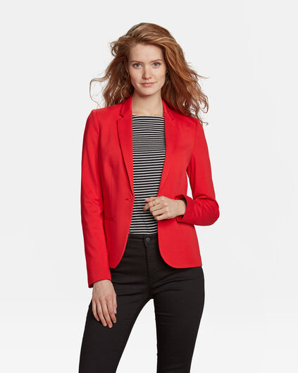 DAMEN-SLIM-FIT-BLAZER Knallrot