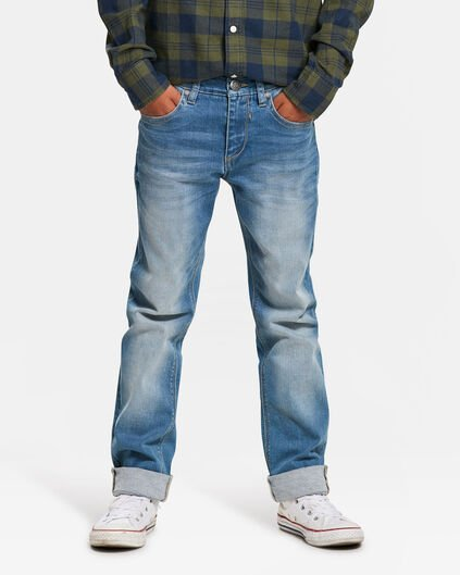 JUNGEN-SLIM-FIT-POWER-STRETCH-JEAN Hellblau