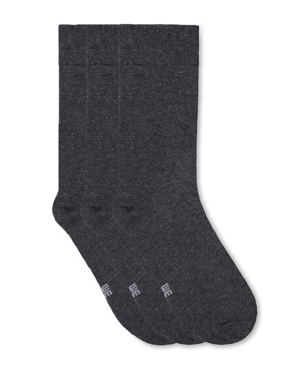 HERRENSOCKEN, 3ER PACK Grau