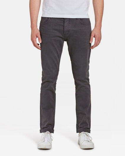 HERREN-HOSE MIT TAPERED LEG Anthrazit