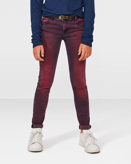 MÄDCHEN-SUPERSKINNY-POWER-STRETCH-JEANS Rosa