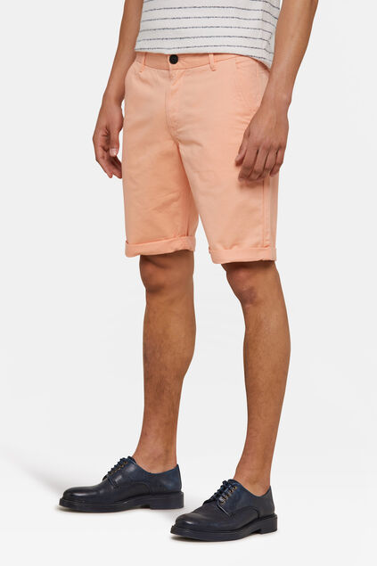 Herren-Regular-Fit-Chinoshorts Altrosa