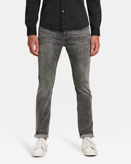 HERREN-SLIM-TAPERED-SUPER-STRETCH-JEANS Grau