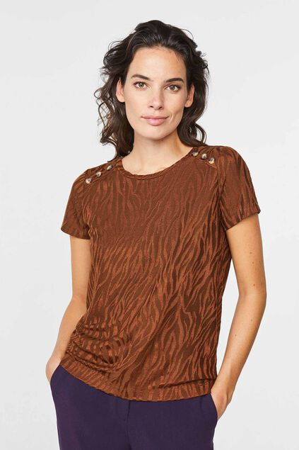 Damen-T-Shirt Braun